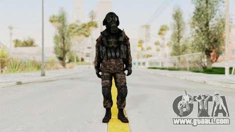 CoD MW3 Russian Military SMG v3 for GTA San Andreas second screenshot