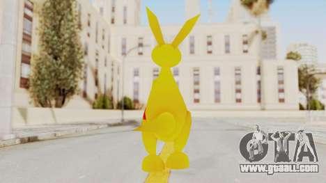 Kao the Kangaroo Gloves for GTA San Andreas third screenshot