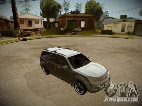 Great Wall Hover H2 2008 for GTA San Andreas side view