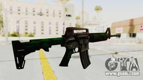 HD M4 v4 for GTA San Andreas third screenshot