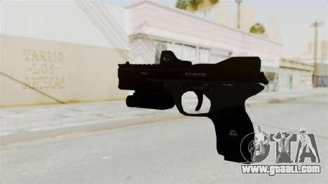 Killzone - M4 Semi-Automatic Pistol for GTA San Andreas second screenshot