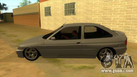 Ford Escort V2 for GTA San Andreas left view