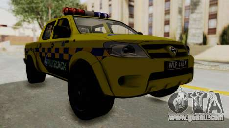 Toyota Hilux Expressway Patrol for GTA San Andreas