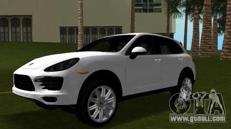 Porsche Cayenne 2012 for GTA Vice City inner view