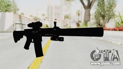 Colt M4 CQB S.W.A.T. for GTA San Andreas