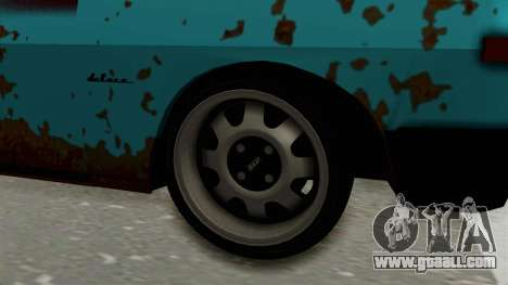 Tampa Daytona for GTA San Andreas back view
