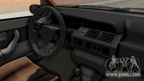 Renault Clio Williams for GTA San Andreas inner view