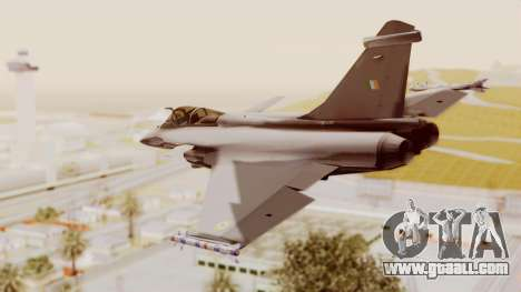 Dassault Rafale Indian Air Force for GTA San Andreas left view
