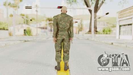 MGSV Ground Zeroes US Soldier No Gear v2 for GTA San Andreas third screenshot
