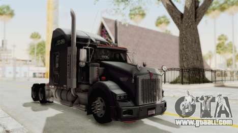 Kenworth T800 Centenario for GTA San Andreas right view
