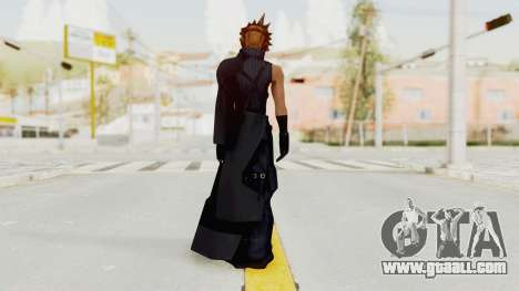 Kingdom Hearts 2 - Cloud Strife for GTA San Andreas third screenshot