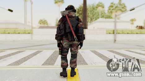 Battery Online Russian Soldier 6 for GTA San Andreas third screenshot