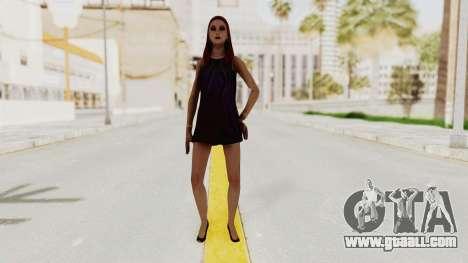 Sasha v2 for GTA San Andreas second screenshot