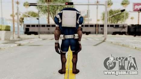 Marvel Future Fight - Warwolf for GTA San Andreas third screenshot