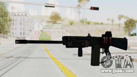 AA-12 Eotech Holo for GTA San Andreas