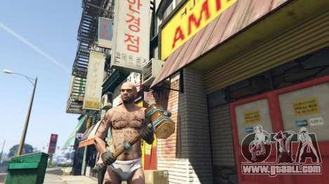 Wooden Fantasy Hammer for GTA 5