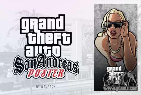 Poster GTA San Andreas HD for GTA San Andreas second screenshot