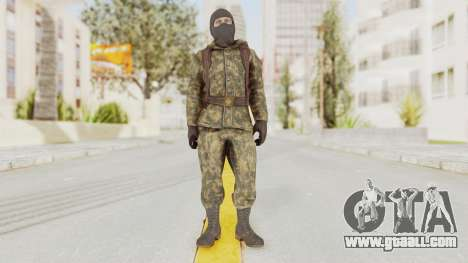 COD Black Ops Russian Spetznaz v2 for GTA San Andreas second screenshot