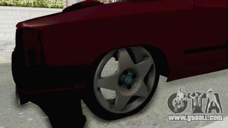 Renault Broadway v2 for GTA San Andreas back view