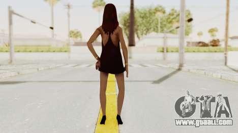 Sasha v2 for GTA San Andreas third screenshot