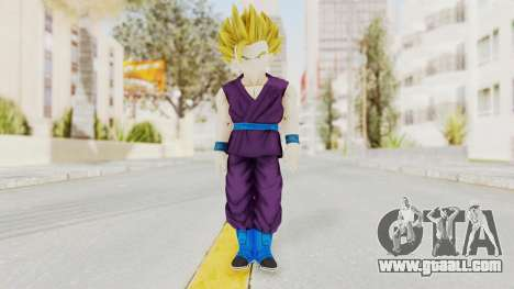Dragon Ball Xenoverse Gohan Teen DBS SSJ2 v1 for GTA San Andreas second screenshot