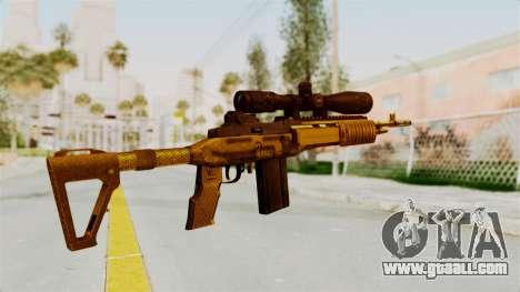 M14EBR Gold for GTA San Andreas second screenshot