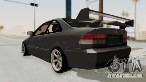 Honda Civic 1995 FnF for GTA San Andreas left view
