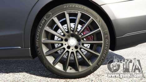 GTA 5 Mercedes-Benz S500 (W222) [michelin] v2.1 rear right side view