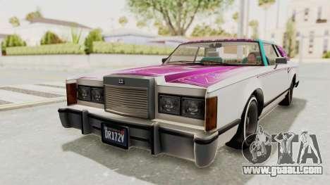 GTA 5 Dundreary Virgo Classic Custom v1 for GTA San Andreas interior