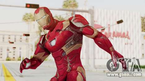 Marvel Future Fight - Iron Man (Civil War) for GTA San Andreas
