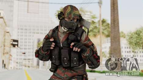 Battery Online Russian Soldier 6 for GTA San Andreas