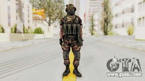 Battery Online Russian Soldier 4 for GTA San Andreas second screenshot