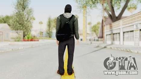 Battlefield 3 Bandit for GTA San Andreas third screenshot