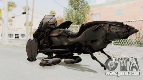 CoD Advanced Warfare - Hover Bike for GTA San Andreas left view