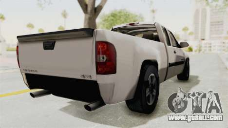 GMC Sierra 2010 for GTA San Andreas back left view