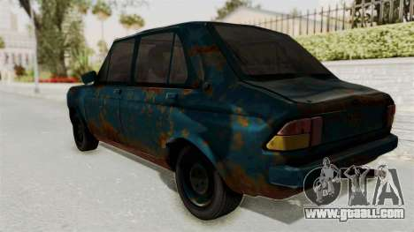 Zastava 1100 Rusty for GTA San Andreas left view