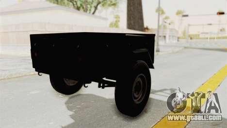 GAZ-704 Trailer for GTA San Andreas left view