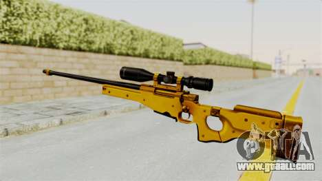 L96A1 Gold for GTA San Andreas second screenshot