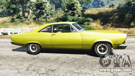 GTA 5 Ford Fairlane 500 1966 v1.1 left side view