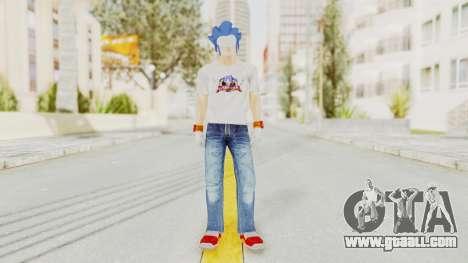 Sonic Man for GTA San Andreas second screenshot