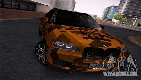 BMW X5M ( Davidich ) for GTA San Andreas left view