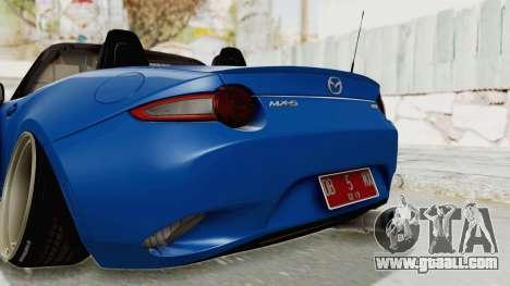 Mazda MX-5 Slammed for GTA San Andreas
