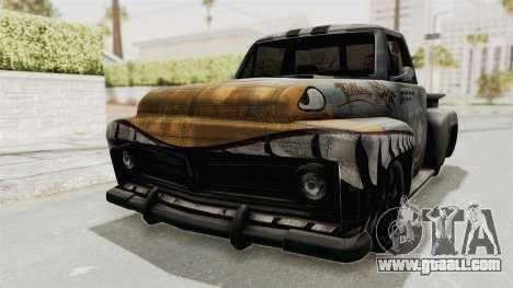 GTA 5 Slamvan Stock PJ2 for GTA San Andreas