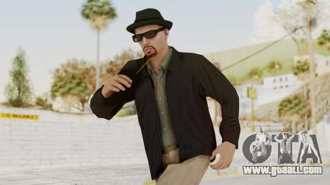 Walter White Heisenberg v1 GTA 5 Style for GTA San Andreas