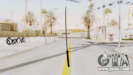 Liberty City Stories - Katana for GTA San Andreas second screenshot