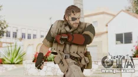 MGSV The Phantom Pain Venom Snake Desert for GTA San Andreas