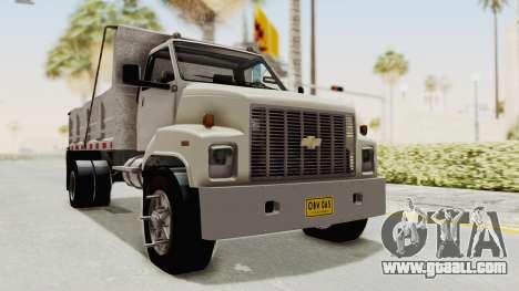 Chevrolet Kodiak Dumper Truck for GTA San Andreas right view