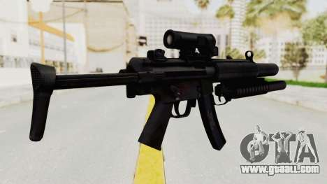 MP5SD with Grenade Launcher for GTA San Andreas second screenshot
