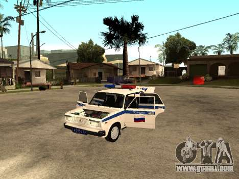 VAZ 2107 DPS for GTA San Andreas