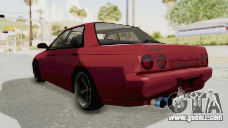 Nissan Skyline NAR32 for GTA San Andreas right view